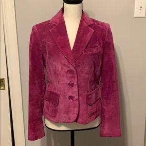 Suede Leather Jacket from Valerie Stevens